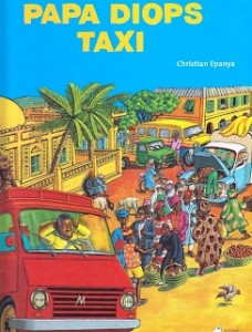 """Papa Diops Taxi"" av Christian Epanya"