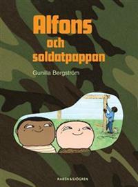 """""""Alfons och soldatpappan"""" av  Barbro Lindgren"""