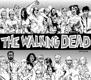 The Walking Dead Comic - Characters